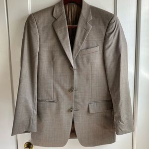 COPY - Men's Alfani by Macy's Beige 2 Pc Suit 36R
